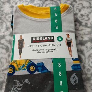 Boys Kirkland Signature Dozer 4pc PJ set